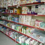Kệ cửa hàng Mẹ và Bé tại TPHCM