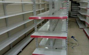 Kệ siêu thị đầu dãy nối tiếp tại Long An