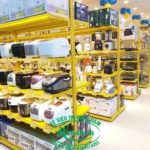 Kệ siêu thị điện máy tại TPHCM