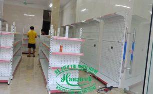 Lắp đặt kệ siêu thị ở TP HCM theo yêu cầu