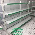 Kệ siêu thị Cần Thơ loại Đôi Lưng Lưới