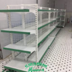 Kệ siêu thị đôi lưng lưới tại TP HCM