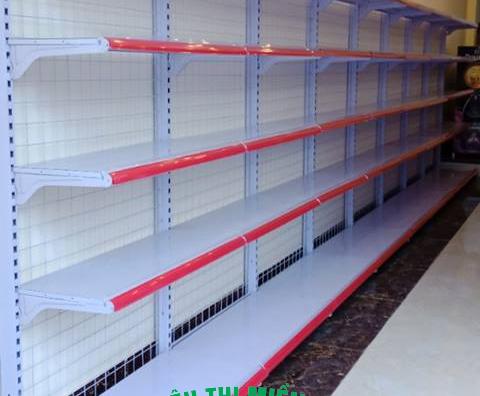 Kệ siêu thị đơn lưng lưới tại TPHCM