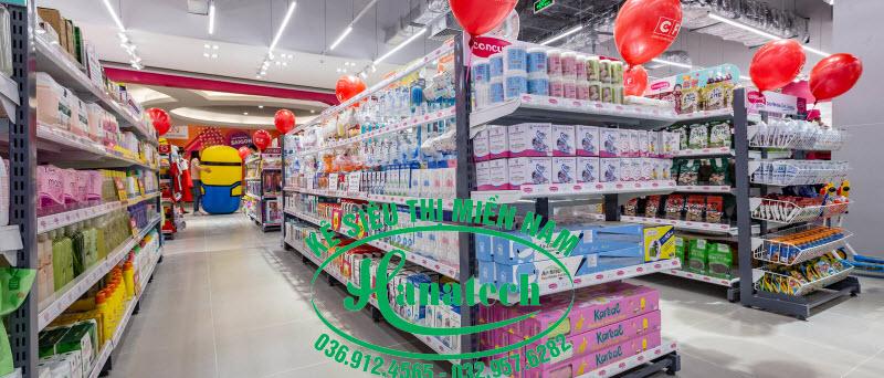 Kệ siêu thị giá rẻ Cần Thơ