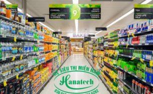 Báo giá kệ siêu thị tại Cần Thơ