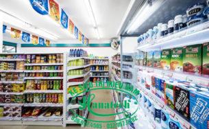 Bảng báo giá kệ siêu thị tại TPHCM