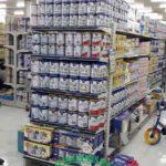 Kệ trưng bày sữa tại Cần Thơ