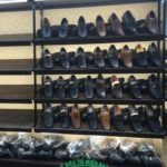 Giá kệ trưng bày giày dép tại Long An