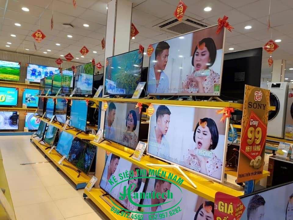 Kệ siêu thị điện máy tại Vũng Tàu