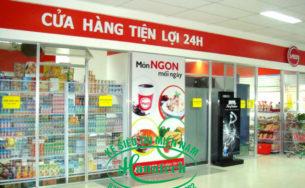 Kệ siêu thị Mini tại Vũng Tàu