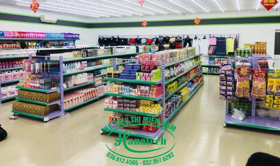 Giá Kệ siêu thị Mini tại Bình Dương
