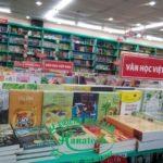 Giá kệ trưng bày sách tại Bình Dương