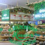 Kệ bán hàng rau củ quả tại Bình Dương
