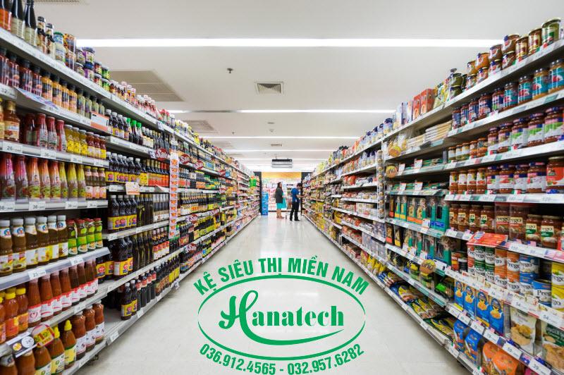 Kệ siêu thị giá rẻ Bình Dương