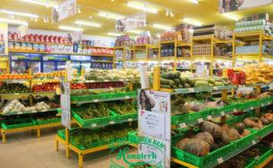 Kệ rau củ quả trái cây tại Đồng Nai