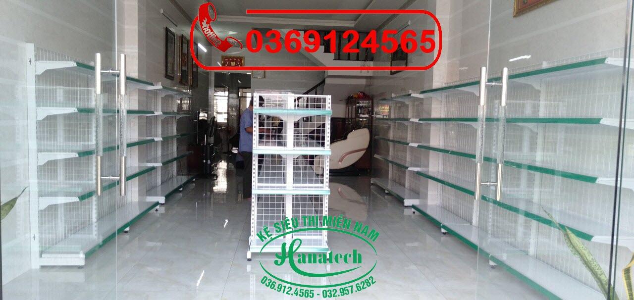 Lắp đặt kệ siêu thị tại Vĩnh Long
